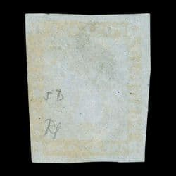 TUT2495 - Mauritius - 1d. Red-brown/grey, worn impression type 'D'. CLICK FOR FULL DESCRIPTION
